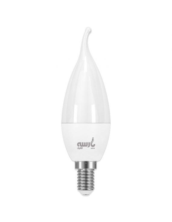 لامپ شمعی اشکی کریستال ال ای دی ۶ وات LED